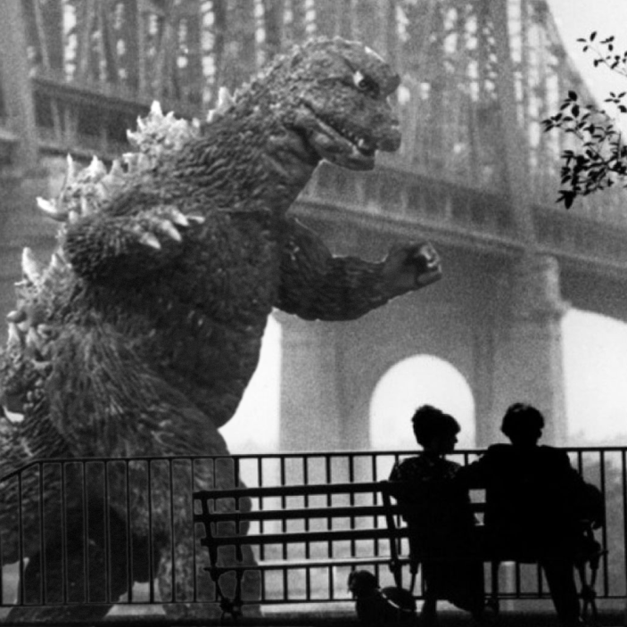 31 Imagine that godzilla attacks Manhattan. Would you fuck with me?
